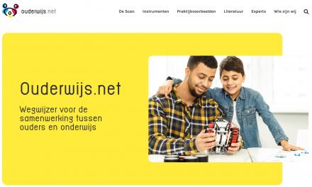 Lancering online wegwijzer voor de samenwerking tussen ouders en onderwijs