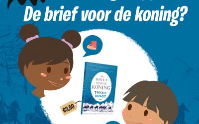 'De brief voor de koning' van Tonke Dragt voor 3,50 euro verkrijgbaar in de boekhandel